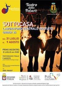 """Laboratorio del Teatro della Polvere """"Sottocasa"""" a Sant'Agata"""